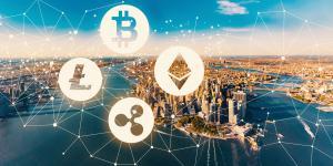 Virtual Currencies, Manhattan skyline